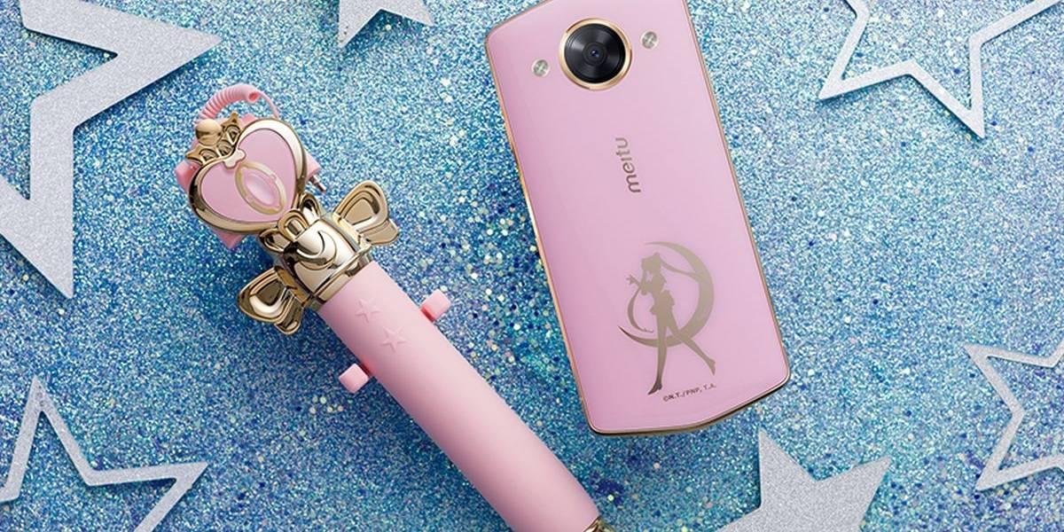 Meitu lanza un celular temático de Sailor Moon