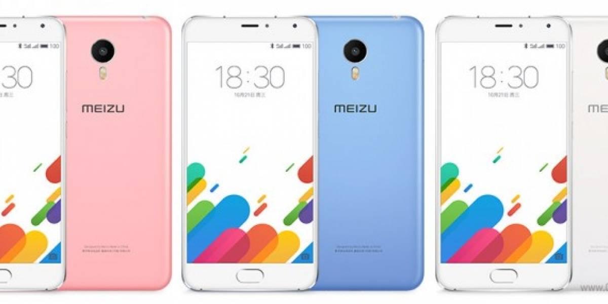 El smartphone Meizu Metal rompe la gama media
