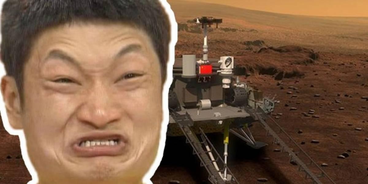 Así luce el vehículo de exploración que usará China en misión a Marte