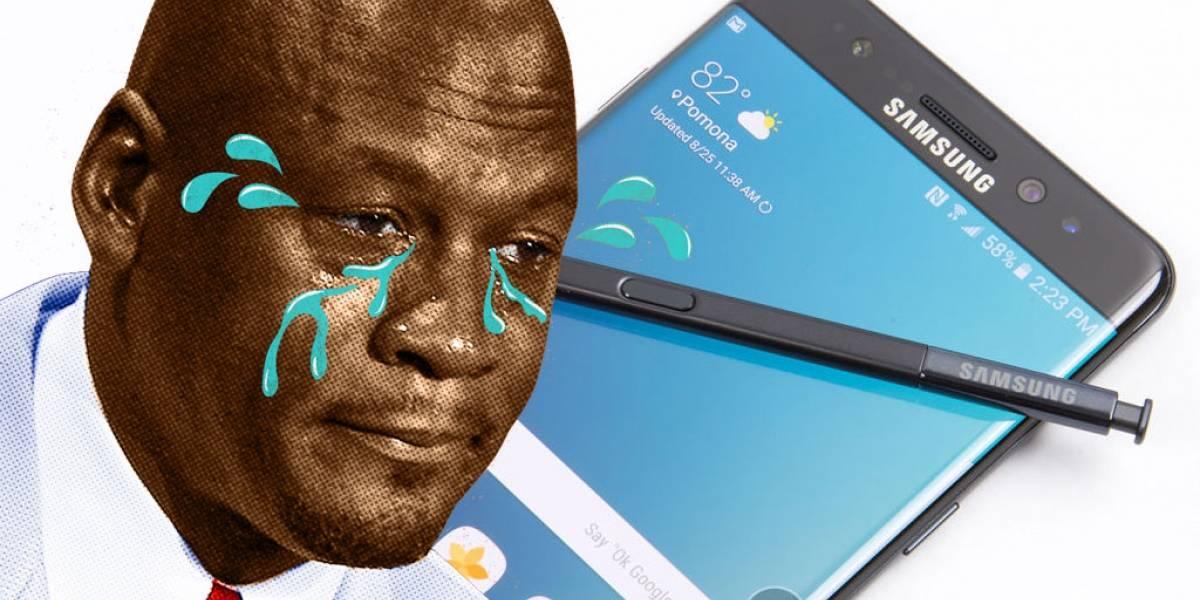 Van a deshabilitar los Galaxy Note 7 en Estados Unidos