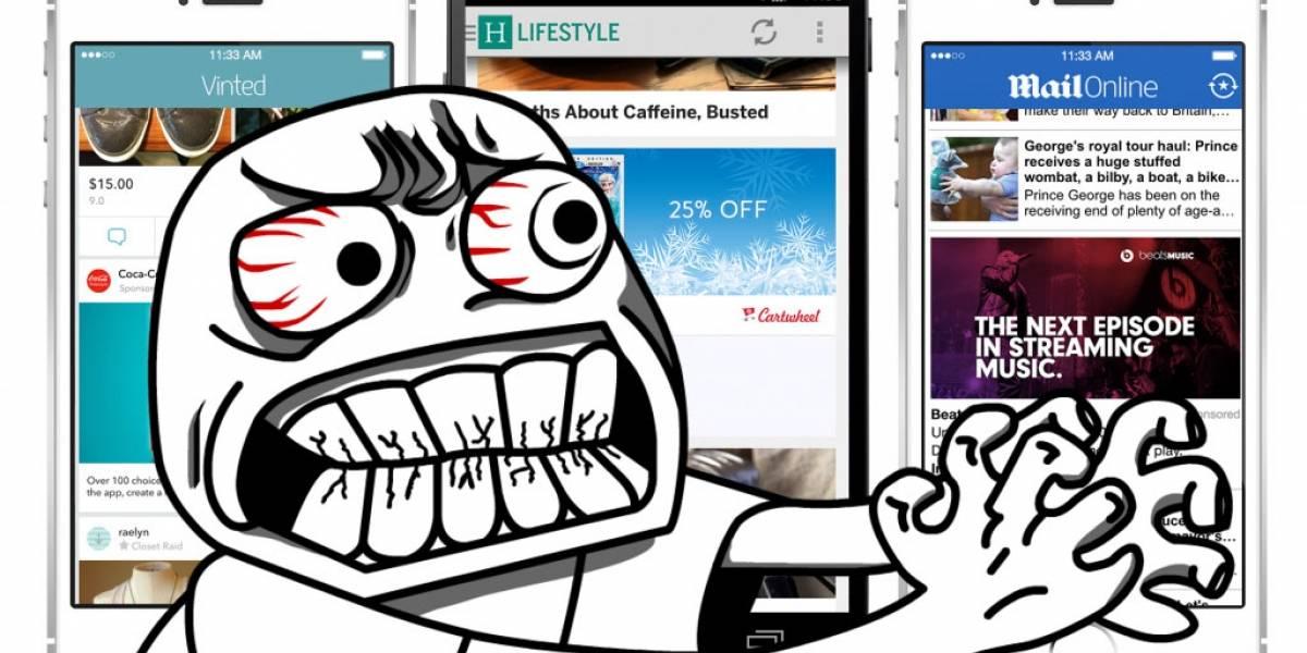 ¿Aceptarías publicidad en tu teléfono a cambio de pagar la mitad de su precio? [W Pregunta]