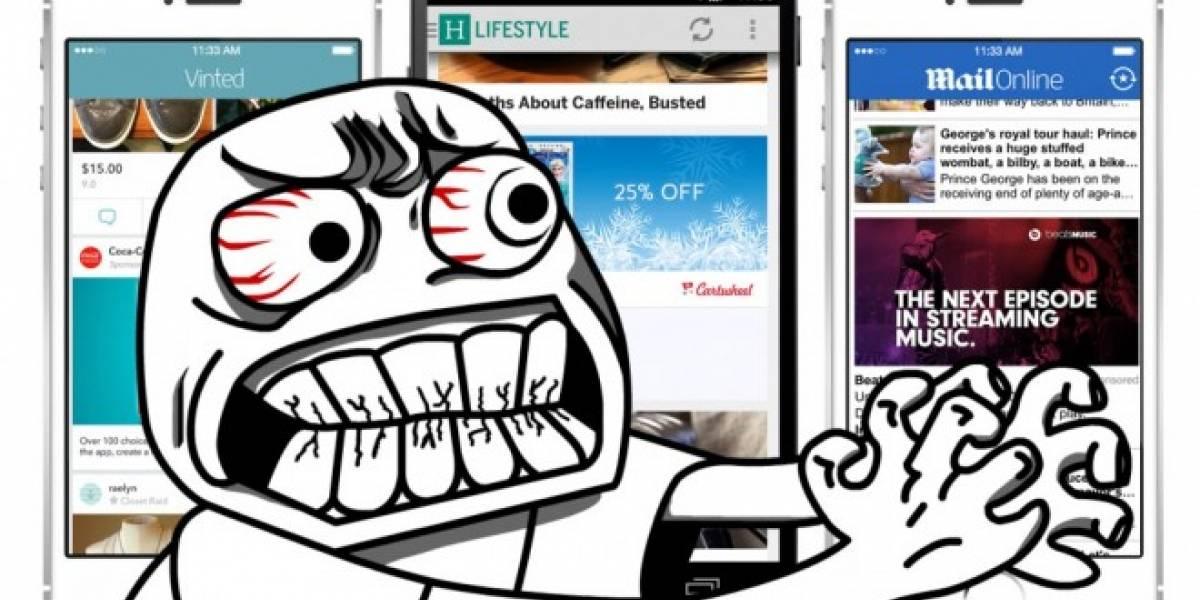Estos son los tipos de anuncios más odiados por los usuarios móviles
