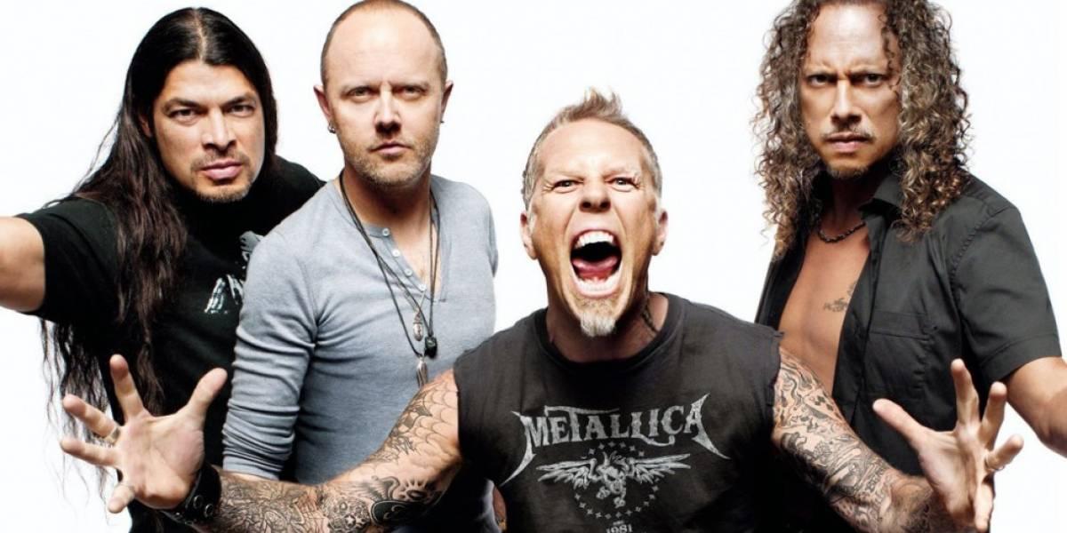 Así se veía el juego cancelado de Metallica