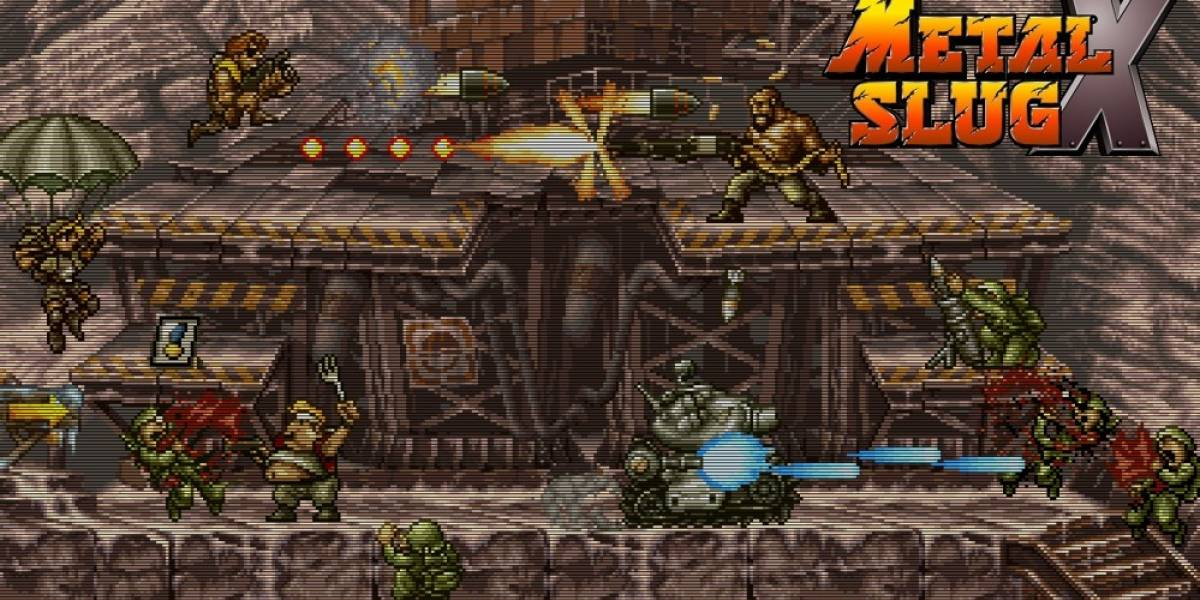 Metal Slug Anthology llegará a la PS4 la próxima semana