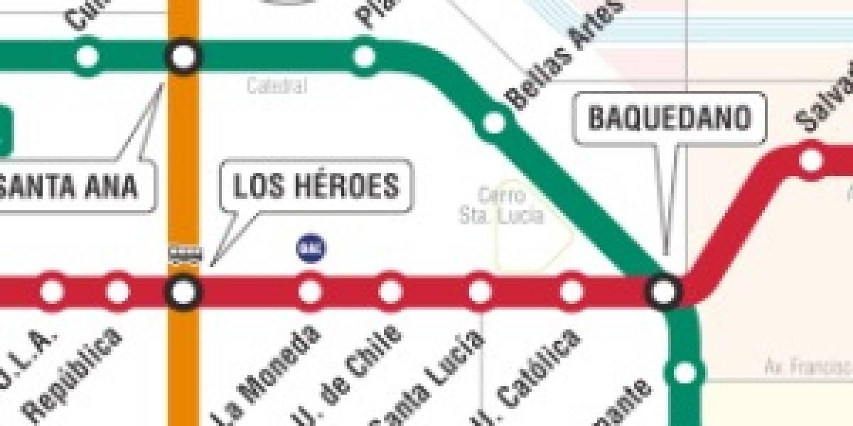 iPhone: Mapas del Metro de Buenos Aires, Caracas y Santiago