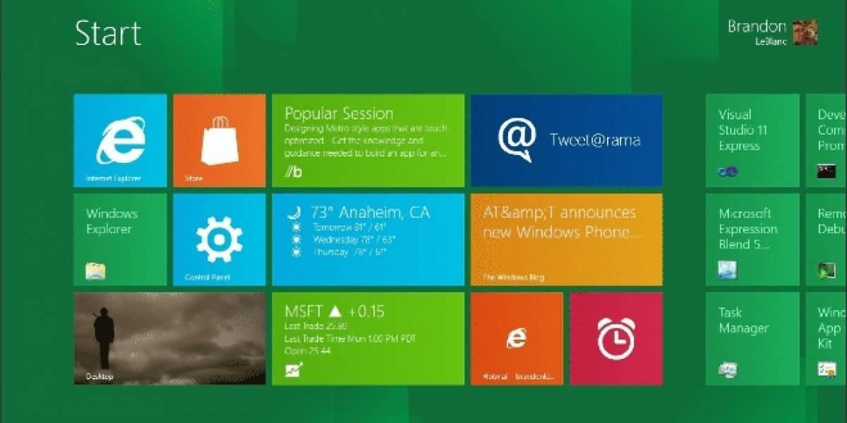 Modern UI: El nuevo nombre para Metro de Windows 8