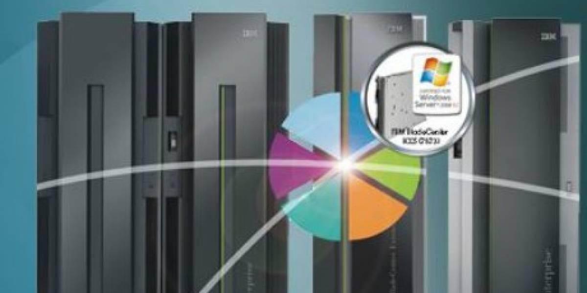 Windows llegará a servidores mainframe de IBM