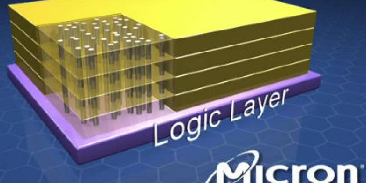 Micron muestra prototipo funcional de memorias HMC DRAM
