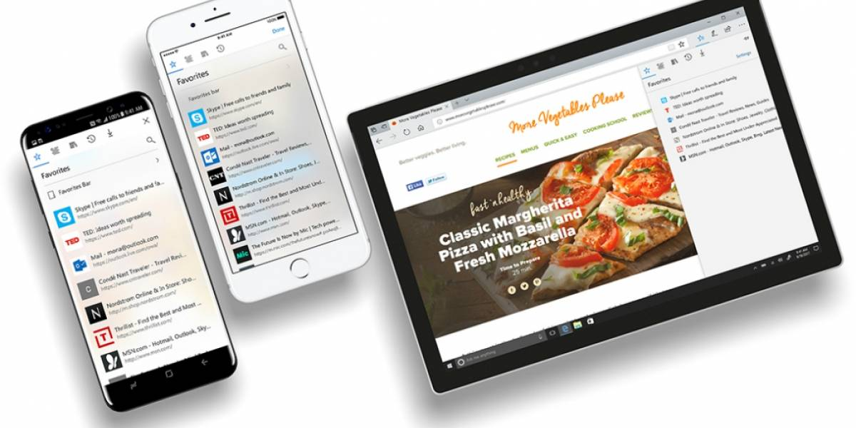 Microsoft Edge ya disponible para iOS