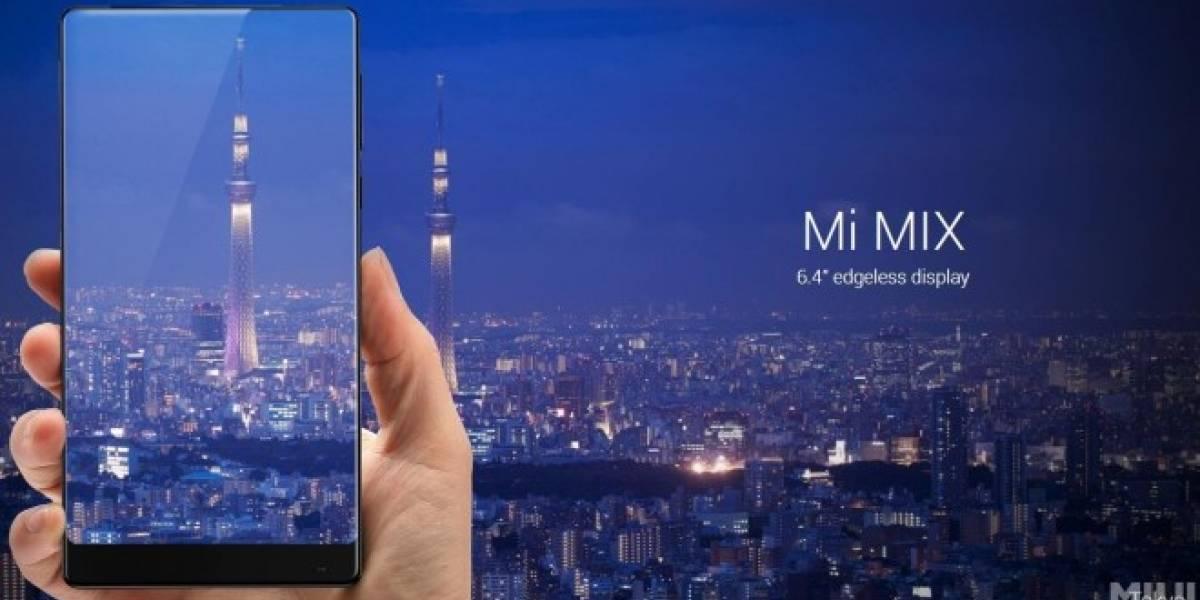 El Mi Mix de Xiaomi es el teléfono del futuro