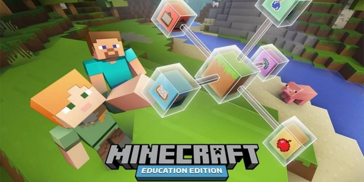 Minecraft Education Edition es la nueva versión para escuelas