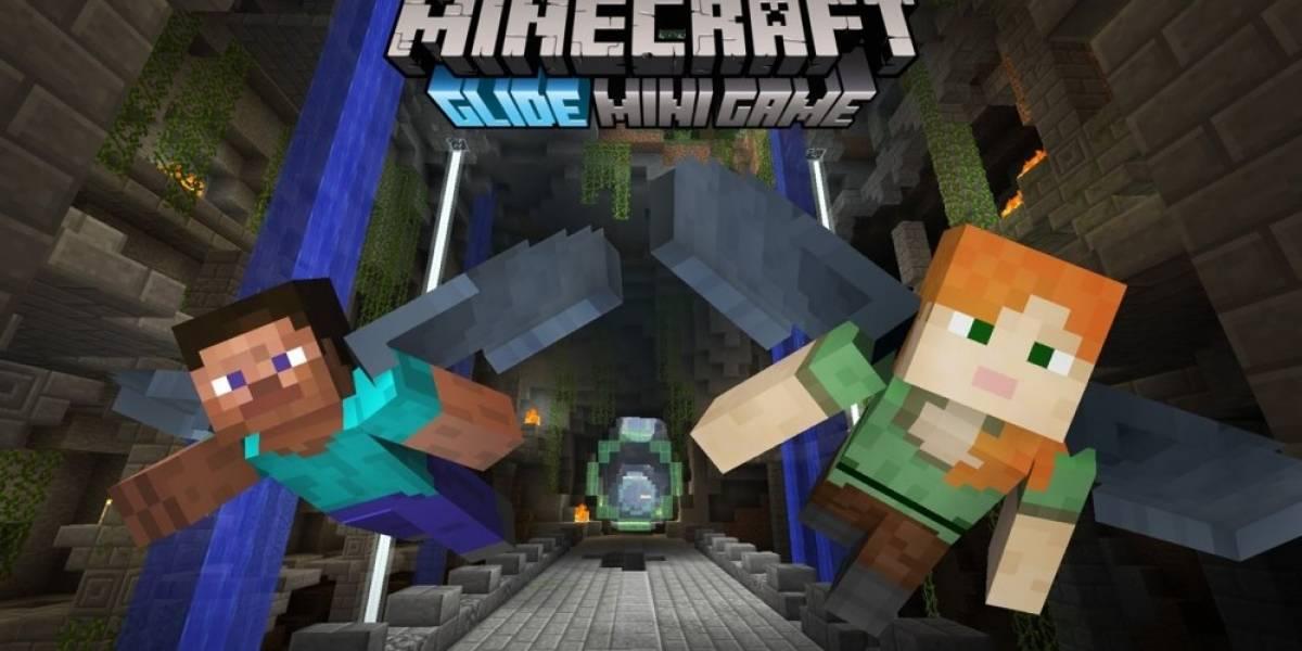 Actualización de Minecraft permitirá a sus jugadores volar por los aires