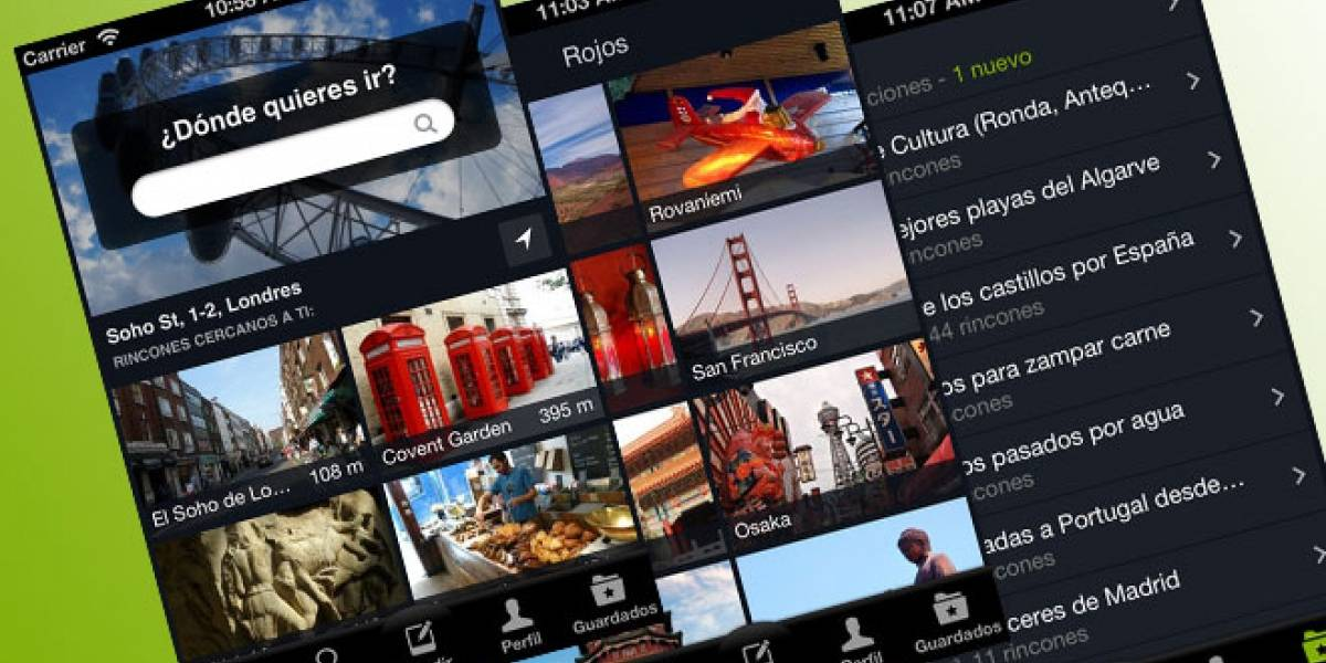 España: La app 'MiNube' se actualiza para iOS e incorpora un 'inspirador' de viajes