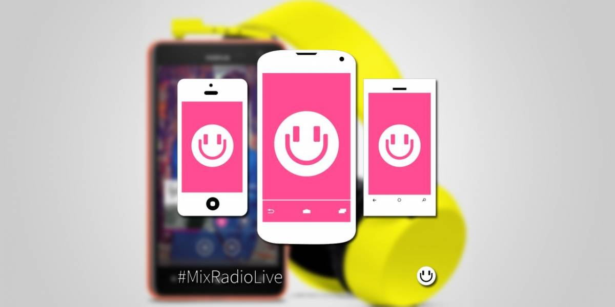 MixRadio ya puede descargarse en Android, iOS y Windows Phone