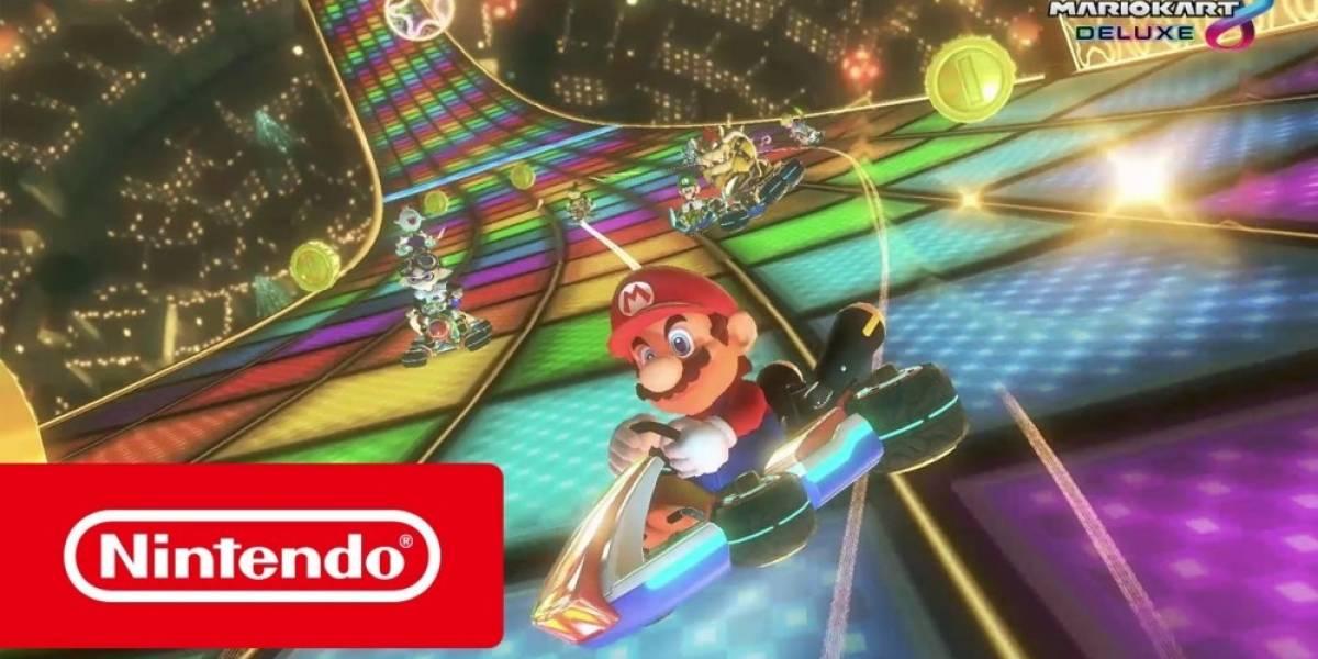 Nuevo tráiler de Mario Kart 8 Deluxe destaca sus características