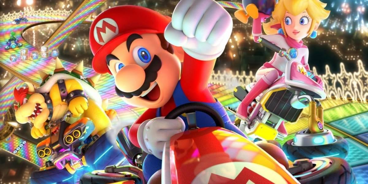 ¿Cuánto espacio ocupará Mario Kart 8 Deluxe en la Switch?