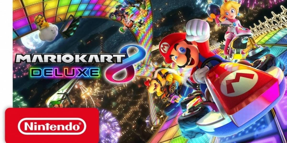 Mario Kart 8 Deluxe, también para Nintendo Switch