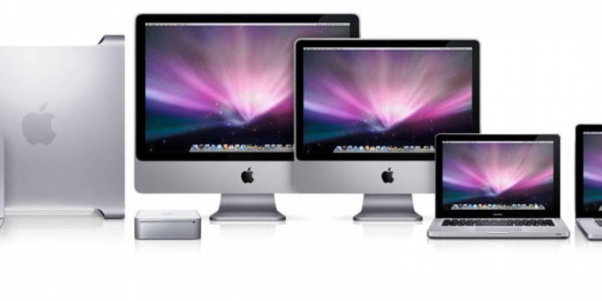 Ventas de computadoras Mac suben un 26% anualmente