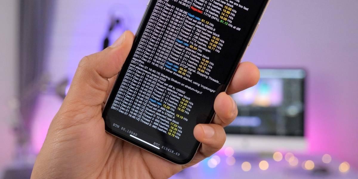 Ya puedes minar Bitcoin usando tu teléfono, con resultados decepcionantes