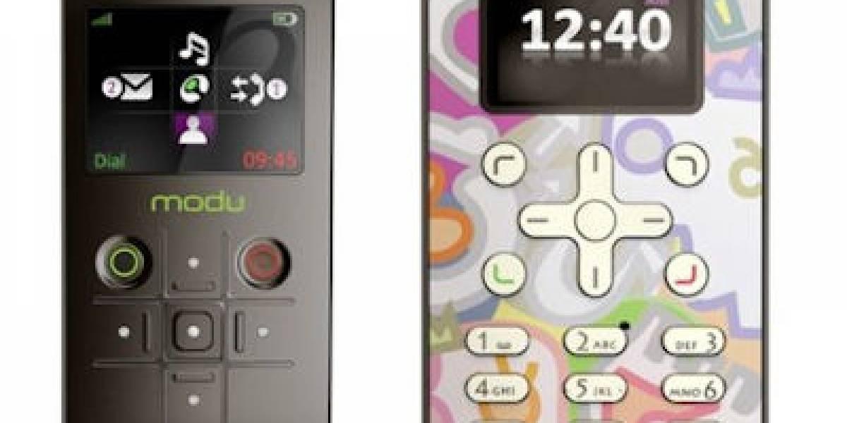 MWC09: Modu un móvil que usa chaquetas