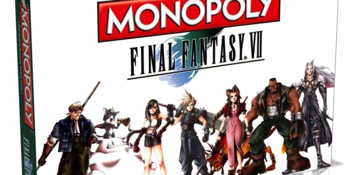 Se anuncia nuevo Monopoly de Final Fantasy VII