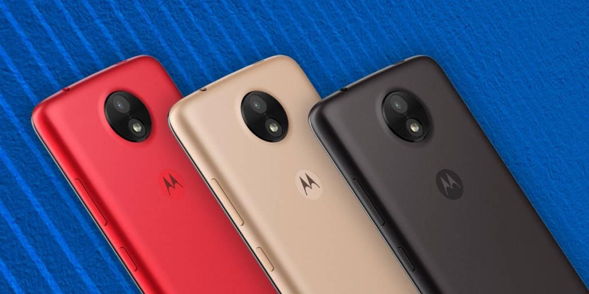 Motorola lanza el Moto C y Moto E en México