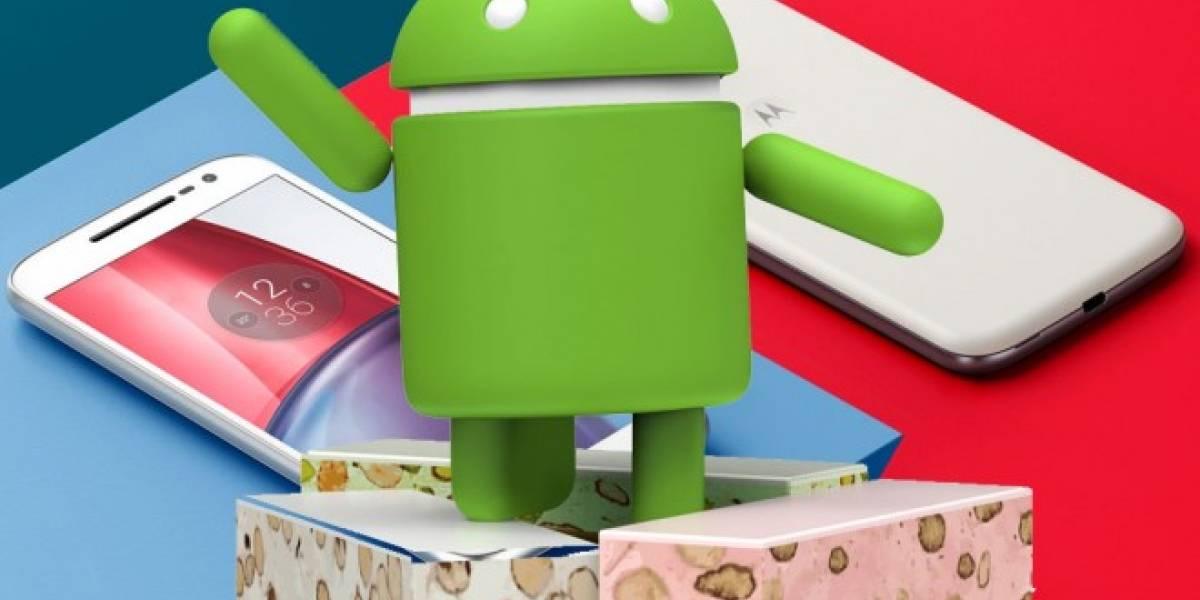 Android 7.0 Nougat llega al Moto G4 y Moto G4 Plus