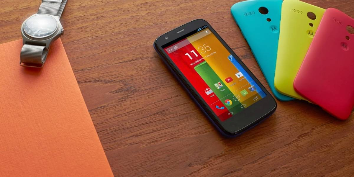 Motorola anuncia Moto G, un smartphone barato muy competente