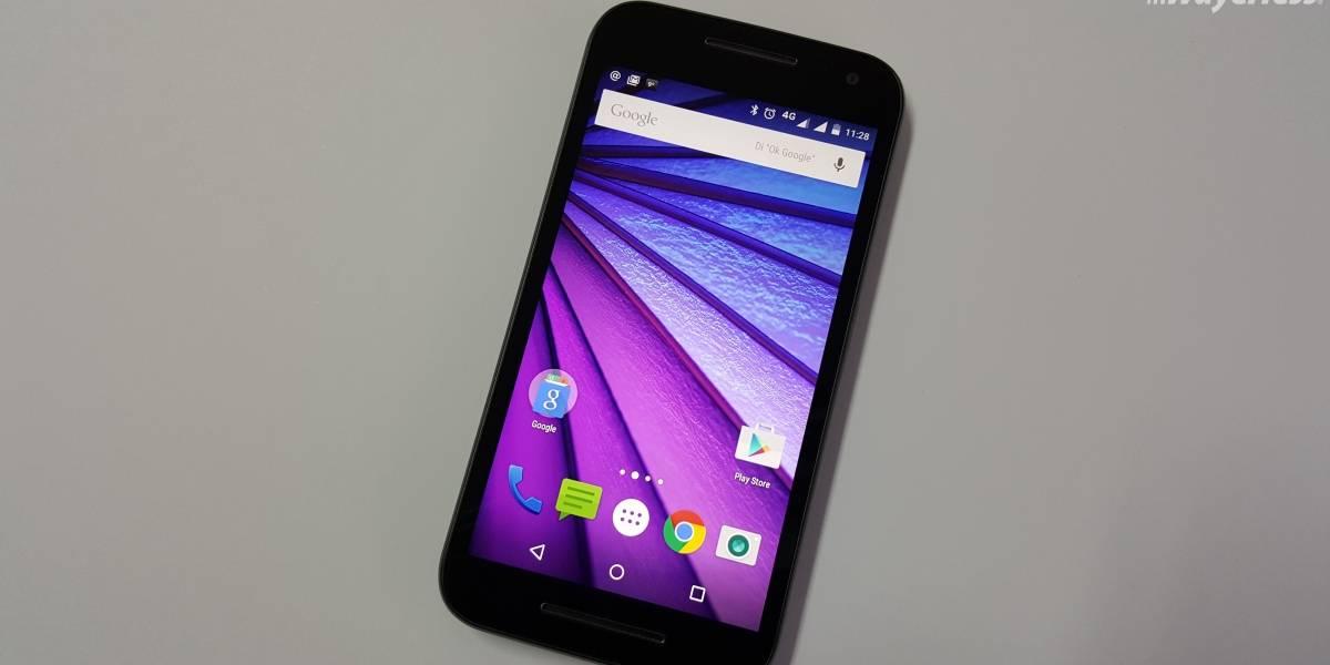 Serie Moto X recibirá Android 7.0 Nougat hasta mayo