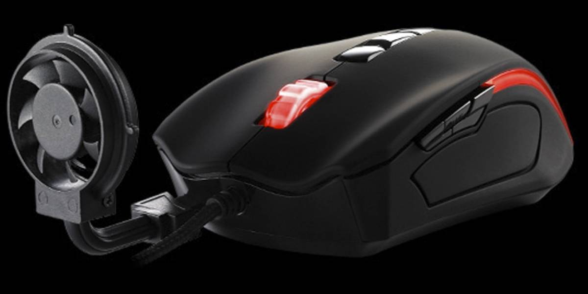 Prepárense para el mouse con ventilador