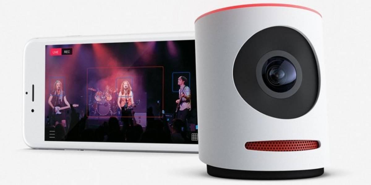 Livestream presenta Movi, la cámara 4K que transmite y edita en directo
