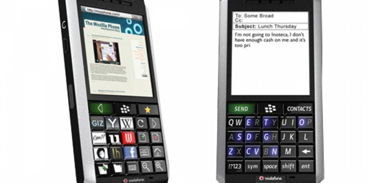 Concepto: Mozilla busca el teléfono perfecto