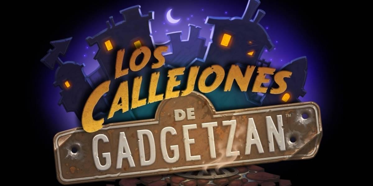 Los Callejones de Gadgetzan, la nueva expansión de Hearthstone ya está aquí