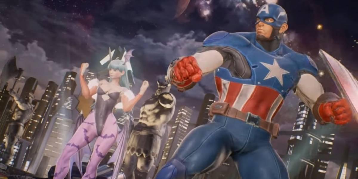 Morrigan y Capitán América se presentan en Marvel vs. Capcom: Infinite