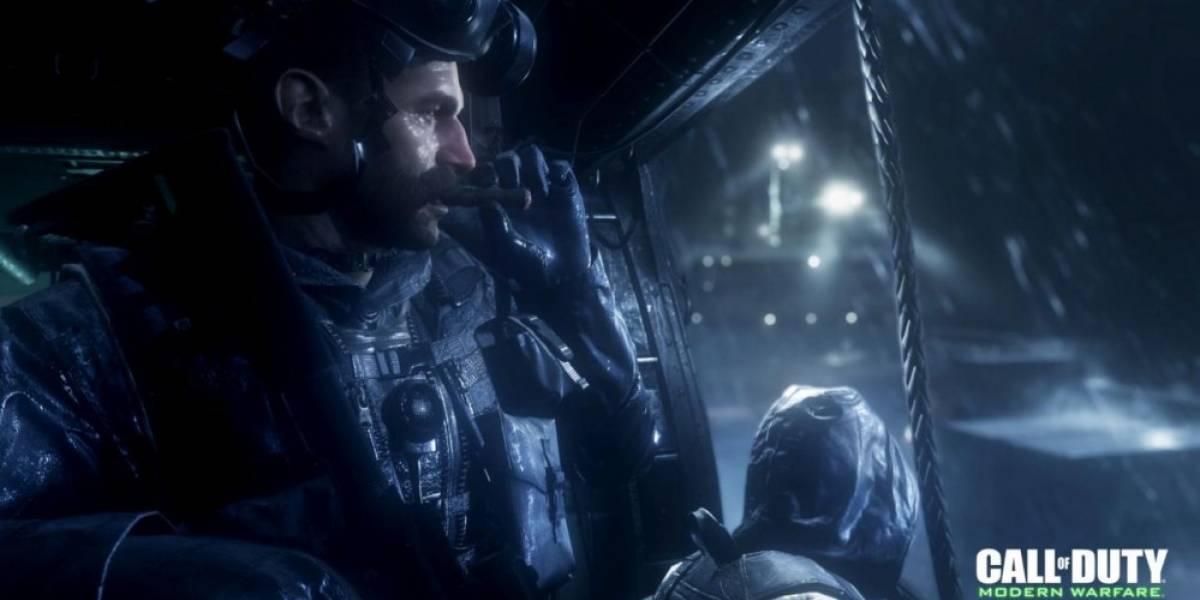 Vean las mejoras visuales de CoD 4: Modern Warfare Remastered