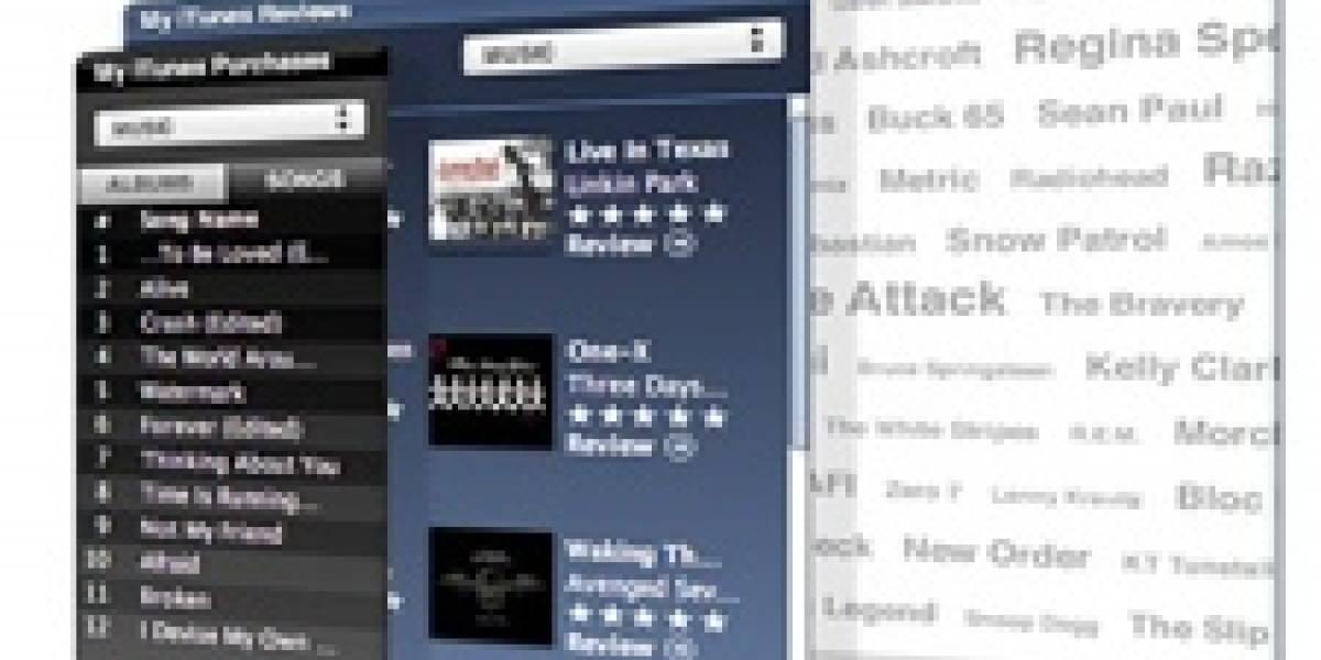 Apple + iTunes + Web 2.0: MyiTunes, widgets para tu Web