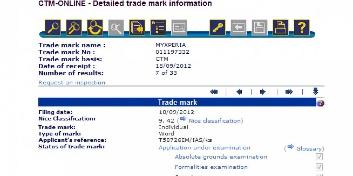 """Sony registra """"MyXperia"""", quizás para nombrar su servicio de almacenamiento"""
