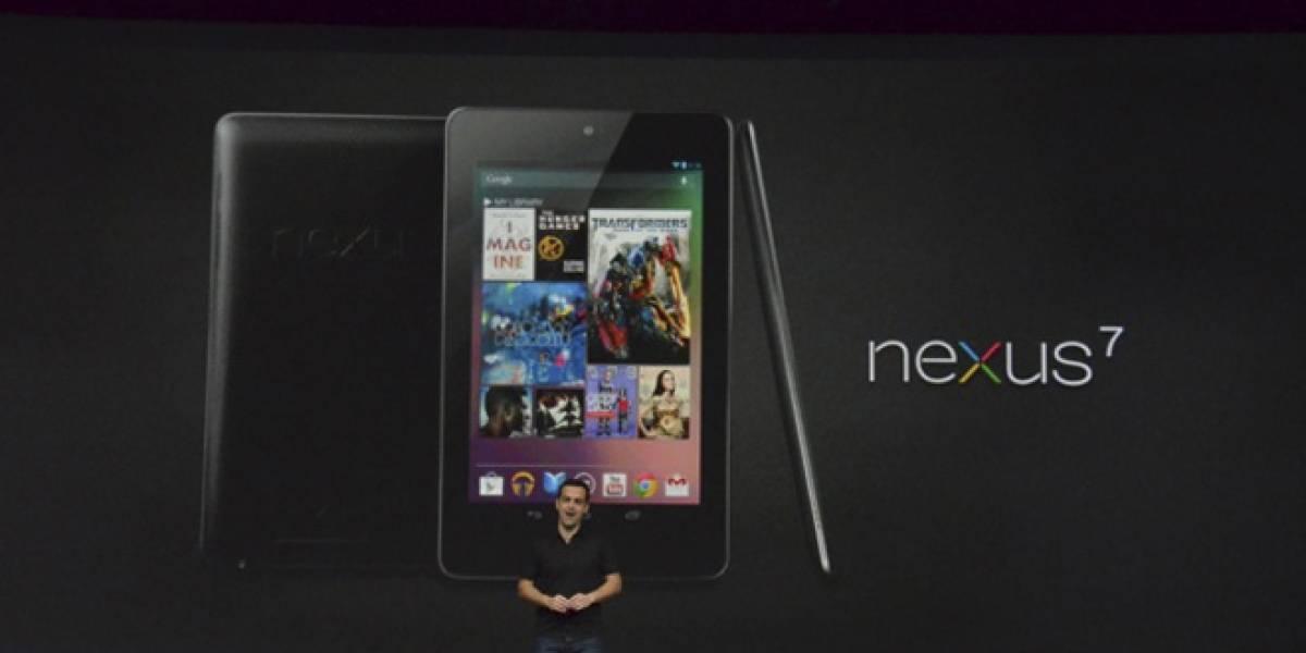 Google presenta su nueva tableta Nexus 7: Tegra 3 a USD$199
