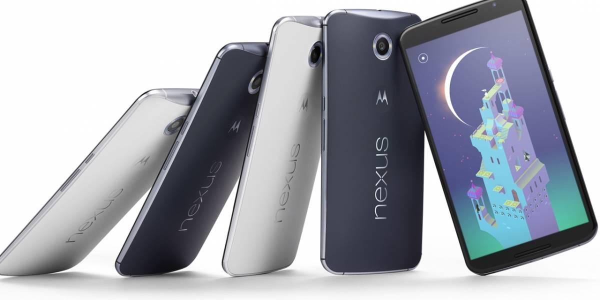 """Algunos Nexus 6 muestran síntomas de """"pantalla quemada"""""""