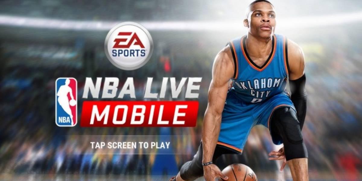 EA presentó NBA Live para iOS y Android