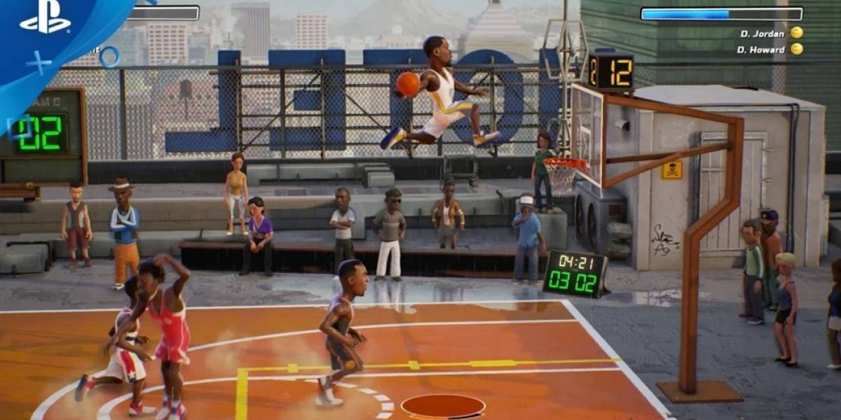 NBA Playgrounds estrena tráiler de jugabilidad