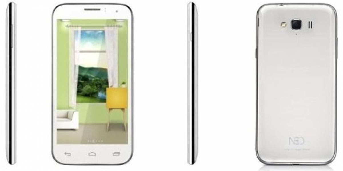 """Neo N003: El smartphone de USD$160 con cuatro núcleos, cámara de 13 MP y pantalla de 5,3"""""""