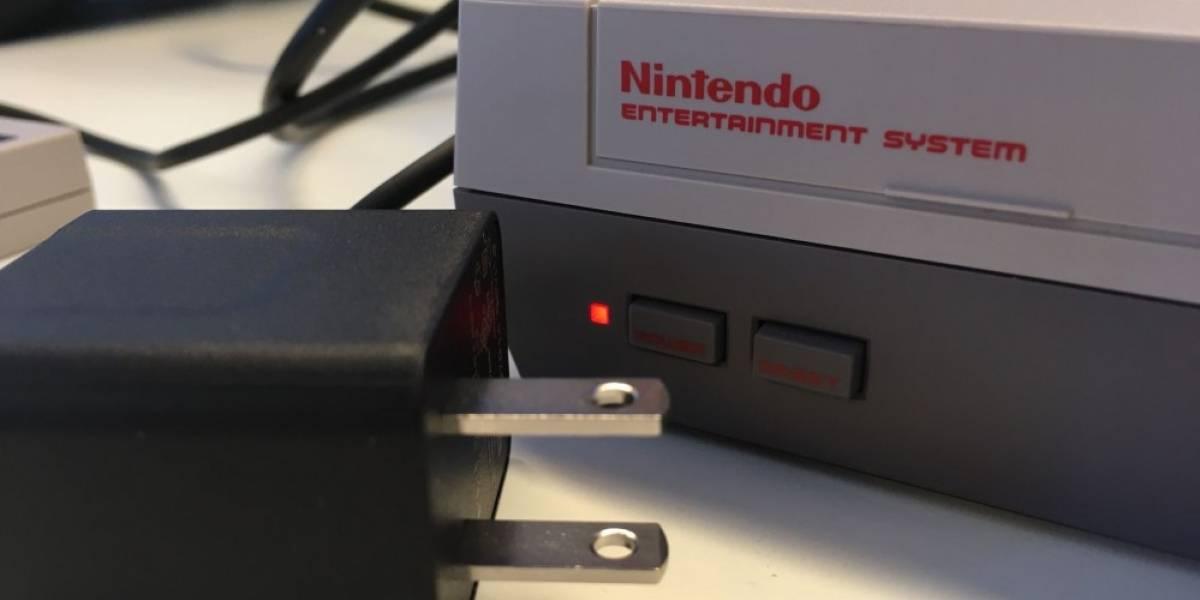 La NES Mini se puede conectar al puerto USB de un PC (y funciona)