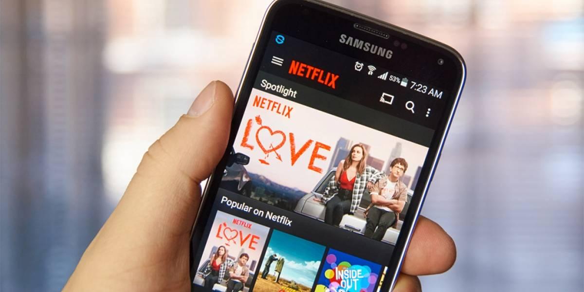Netflix esta probando una nueva interfaz de usuario para Android