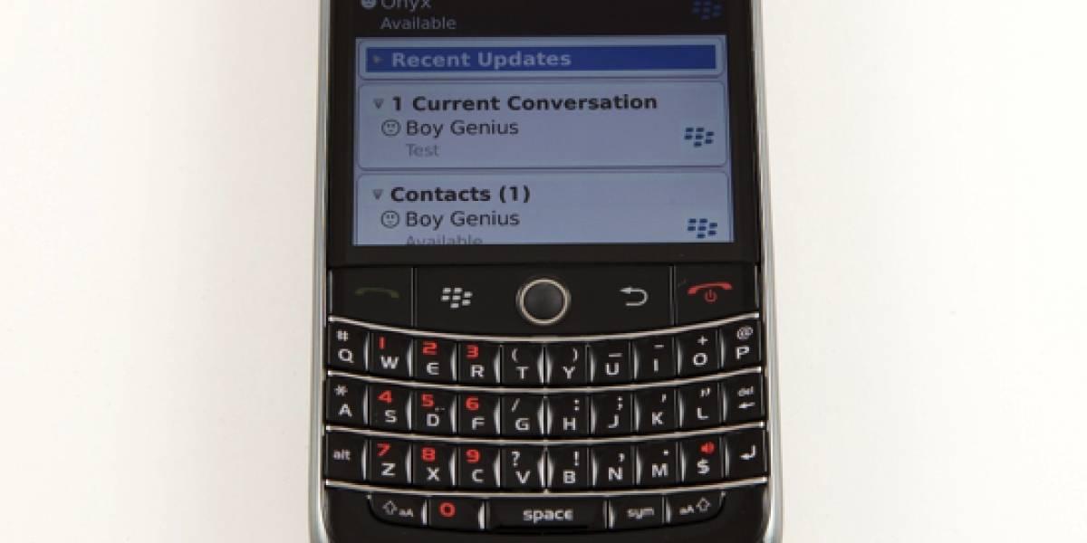 Imágenes y características del nuevo BlackBerry Messenger