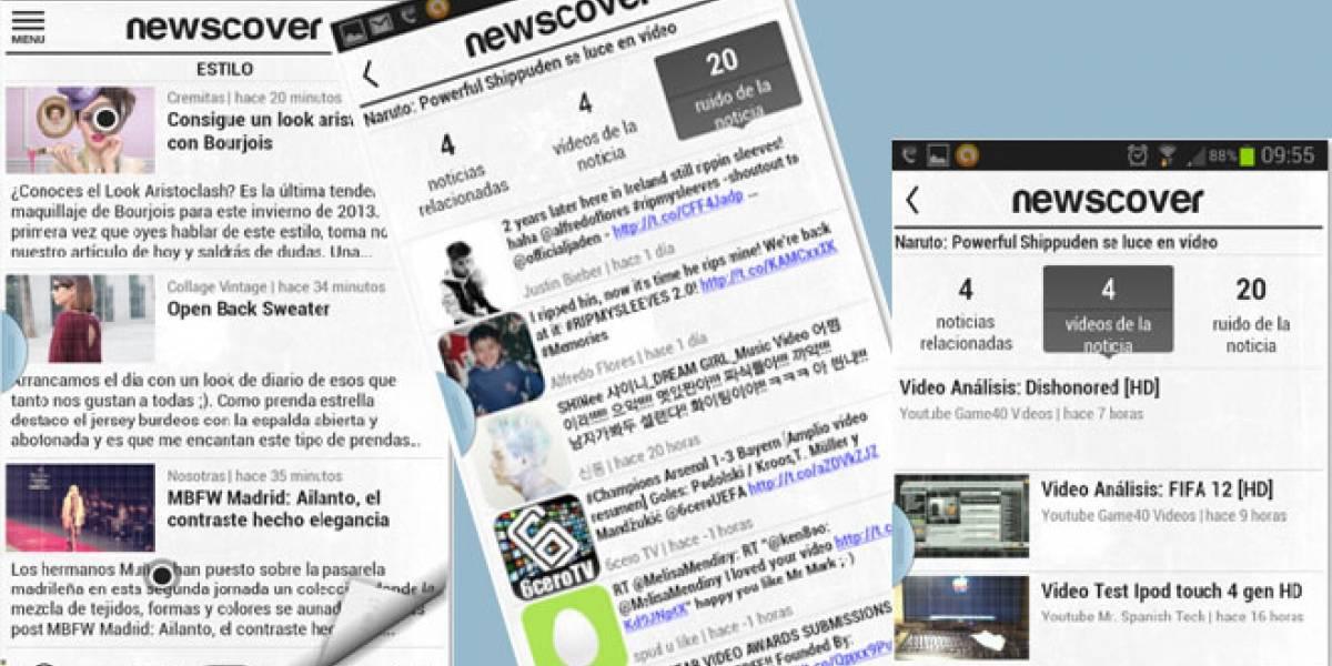 Newscover: Un 'Flipboard' a la española que viene pisando fuerte