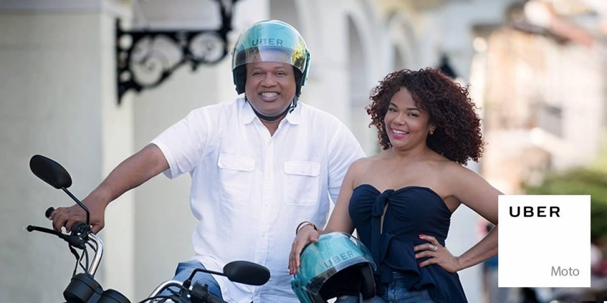En República Dominicana puedes pedir que te pasen a buscar en una Uber moto