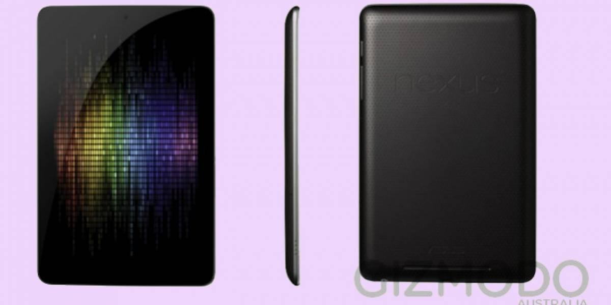 Nexus 7: Así podría ser la nueva tableta de Google