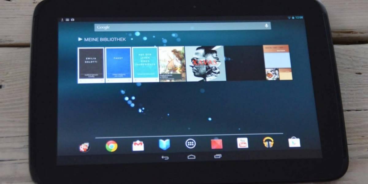 "Aparece un misterioso dispositivo llamado Google Nexus Foo de 10,3"""