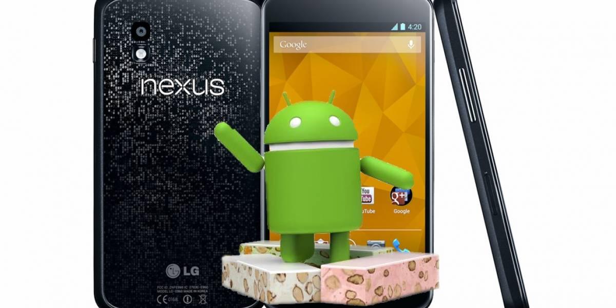 Android Nougat llega al Nexus 4 gracias a CyanogenMod 14